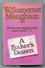 Baker's Dozen by W Somerset Maugham (Hardback, 1969-1st) 13 Short Stories, HB/DJ