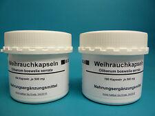 Weihrauch 360 Kapseln  ( 27,61 € /100 g )Boswellia serrata, indischer Weihrauch