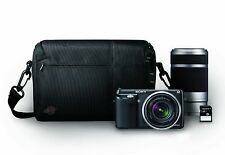 Sony Alpha a NEX-F3K 16.1 MP Limited Edition Kit w/ 18-55mm and 55-210mm Lenses