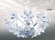 Lampada Plafoniera Lampadario Stile moderno decorazione Fiori Nuovo 40403