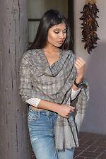 CS24 Handmade Pashmina Cashmere Stole Shawl Scarf Wrap Nepal Nepalese by Eksha