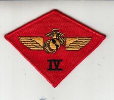 4th MARINE AIR WING COMMAND CHEST PATCH