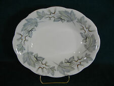 "Royal Albert Silver Maple Oval 9 1/4"" Vegetable Serving Bowl"