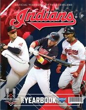 2017 CLEVELAND INDIANS YEARBOOK PROGRAM WORLD SERIES & ALCS CHAMPS SANTANA