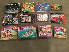 LEGO Instruction Manual Lot 28 lbs 10 Ounces Friends Technic Ninjago Lot O345