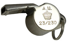 British RAF DITCHING WHISTLE- WW2 Repro Air Ministry Emergency Acme Thunderer