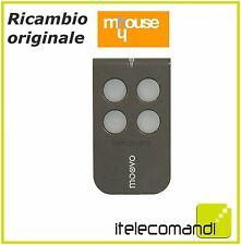 RADIOCOMANDO TELECOMANDO ORIGINALE NICE MOOVO MT4 MT 4 G 4CH 433MHZ