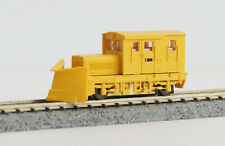 Locomotive TMC100BS w/Snow Plow (Yellow/2 Window) - Tsugawa Yokou 14022(N scale)