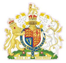Royale Britannique Armoiries-Autocollant Voiture Royaume Uni-pare-chocs Autocollant,