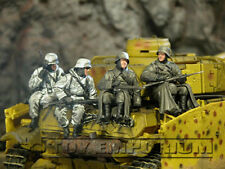 Custom Built 1:35 WWII German Winter Panzer Riders (4)