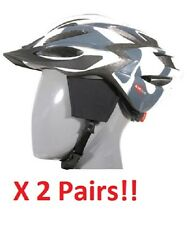 Bicycle Helmet Mounted Ear Warmers  **2 Pairs, FREE SHIPPING!!**