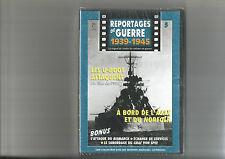 DVD REPORTAGES DE GUERRE N°05 LES U-BOOT ATTAQUENT / A BORD DE L'AJAX ET NORFOLK