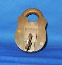 Great Vintage Padlock and Key