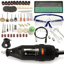 5 Variable Speed Electric Rotary Grinder Polishing Sanding Bits Tool Kit 114pcs