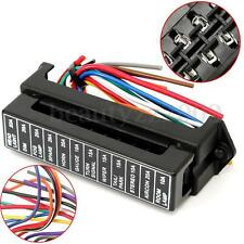 32V 12 Way Circuit Car Boat Auto Blade Fuse Box Block Holder ATC ATO RV25