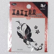 Hot Sale Style Temporary Fake Tattoo beautiful butterflies Women Cheap Tatto 1p