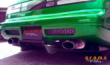 Nissan 300 ZX Rear Carbon Fiber Diffuser / Undertray for Racing, Performance