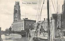 Boston, Town Bridge, pont, boats, cars