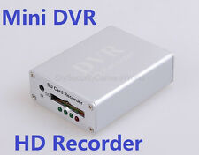 Mini Home CCTV Surveillance Security Camera Audio Video SD Card DVR Recorder