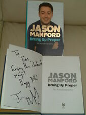 Brung Up Proper: My Autobiography signed by Jason Manford (First Ed)--REDUCED--