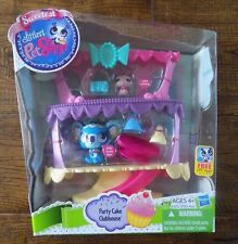 NEW Sweetest Littlest Pet Shop Party Cake Clubhouse Playset Toy #3017 #3018