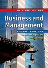Business and Management for the IB Diploma: Study Guide (International Baccalaur