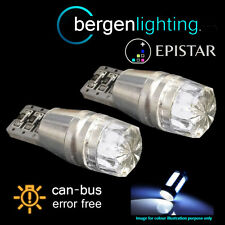 2X W5W T10 501 CANBUS ERROR FREE LUCI LATERALI A LED BIANCO FANALI SL101204