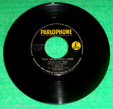 "PHILIPPINES:LULU - Best Of Both Worlds,Take Me In Your Arms,7"" 45 RPM,rare"