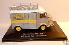 ELIGOR HACHETTE CITROEN TYPE H HY HZ 1963 850 KG SERVICE COMPETITIONS CIBIE 1/43