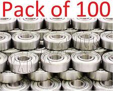 100 Skate/Board Ball Bearings 608ZZ Skateboard/inline Wholesale Lots 8mm 22mm OD