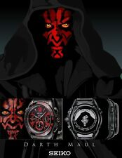 Rare SEIKO Non Vintage Digital Watch DARTH MAUL SAGA127 STAR WARS SOLD OUT NEW!