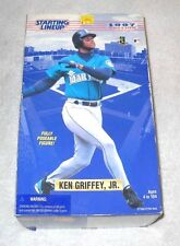 1997 Ken Griffey Jr. (12 inch scale) Starting Lineup doll - 100% complete (MIB)