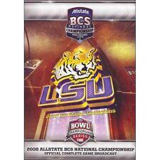 2008 Allstate BCS National Championship LSU vs. Ohio State (DVD, 2008)