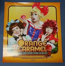 Orange Caramel 2nd Mini Album  OFFICIAL POSTER HARD TUBE CASE