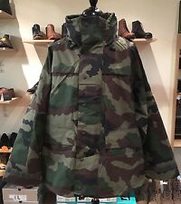 French Army Issue Gore-Tex Style Waterproof CCE Woodland Camo Jacket 112L XL