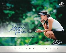 Grace Park Signed 2004 SP Signature Golf Signature Shots