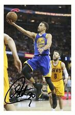 STEPHEN CURRY - GOLDEN STATE WARRIORS AUTOGRAPHED SIGNED A4 PP POSTER PHOTO