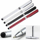 2 in 1 Touch Screen Stylus Ballpoint Pen for Smartphones Samsung HTC Sony Tablet
