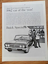 1962 Buick Special Convertible Ad Car of the Year