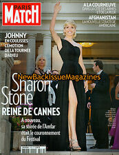 French Paris Match 6/09,Sharon Stone,June 2009,NEW