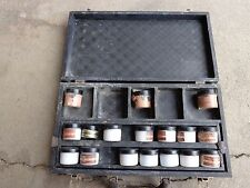 Antique Dodge Chemical Co. Cosmetic Kit Makeup Embalming Mortician Funeral Death