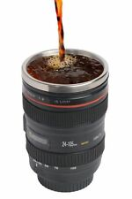 Travel Coffee Mug -Thermo Camera Lenscup w Stainless Steel Insulated Tumbler