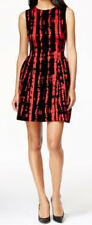 Calvin Klein New Sleeveless Printed Fit & Flare Dress Sz 22W MSRP $184 #AN 939