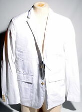 Polo Ralph Lauren Chino Light Weight White Blazer Sport Coat Pima 40R $295 R1