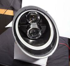 Porsche 911 997 Mk1 991 style BLACK LED DRL Projector Headlights LHD