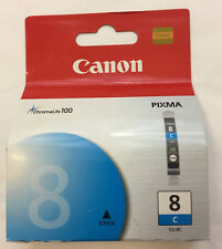 Canon CLI-8C Cyan Printer Ink ChromaLife 100 PIXMA