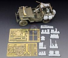 Royal Model 1/35 Willys MB Jeep Detail Set (for Tamiya) [Resin + PE Update) 605
