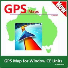 Australia & NZ Latest Maps 2016 for WindowsCE Car GPS Units on CD