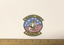 US Navy - Flight Test Tomcat Embroidered Patch