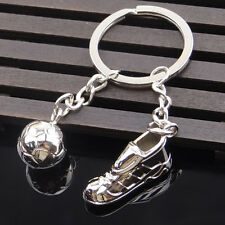 Fashion Football Sneakers Metal Car Keyring Keychain Key Chain Ring Keyfob Gift